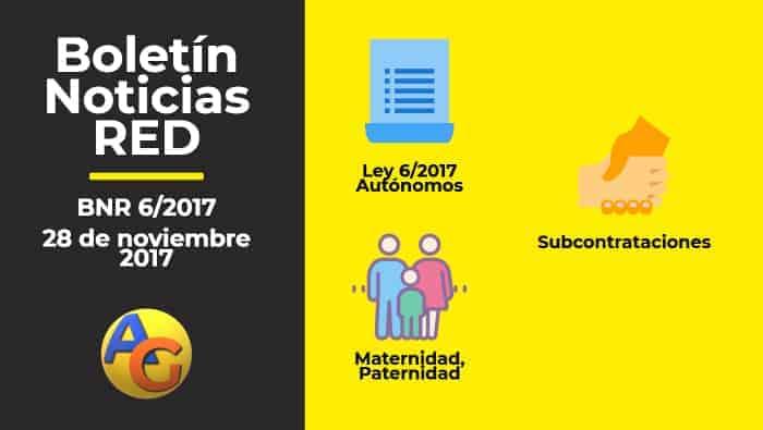 Resumen Boletín Noticias RED 06-2017