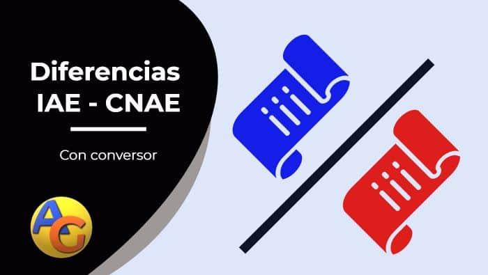 Diferencias IAE CNAE