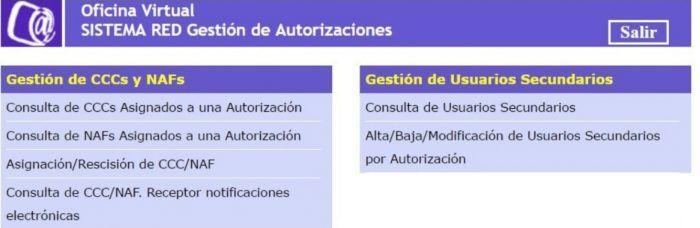 Gestión de autorizaciones