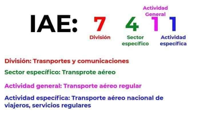 Diferencia IAE CNAE