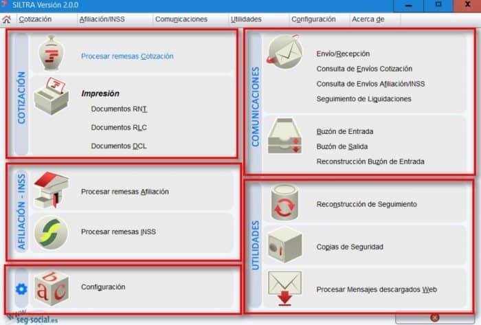 SILTRA V2.0.0. versión
