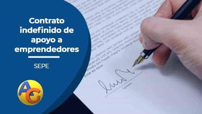 contrato indefinido apoyo a emprendedores SEPE