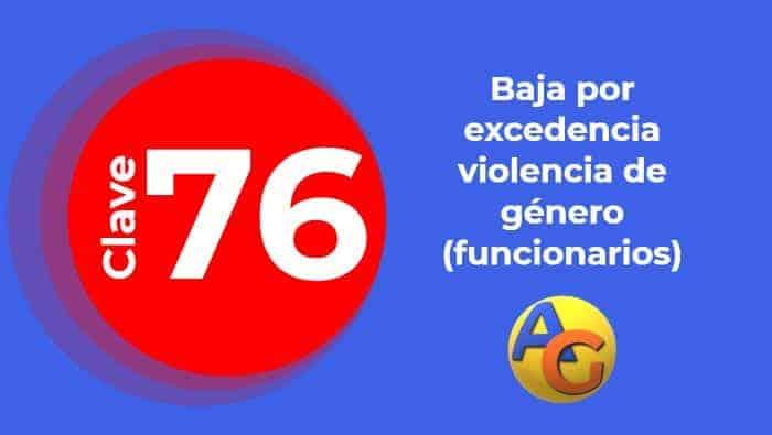 excedencia violencia de género funcionarios 76