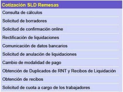 Cotización SLD Remesas