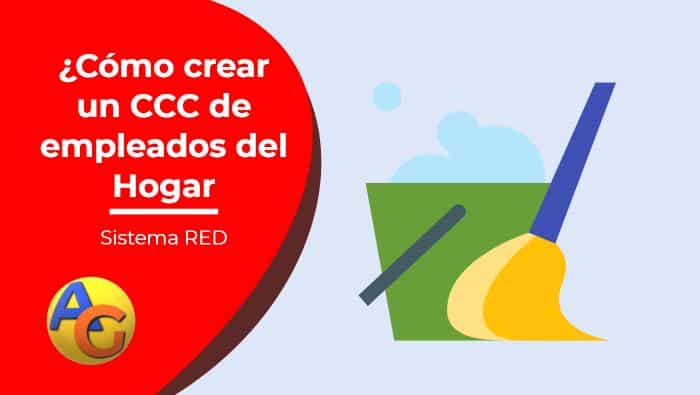 crear ccc de empleados del hogar sistema red