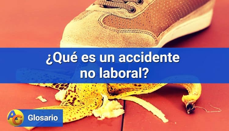 Accidente no laboral