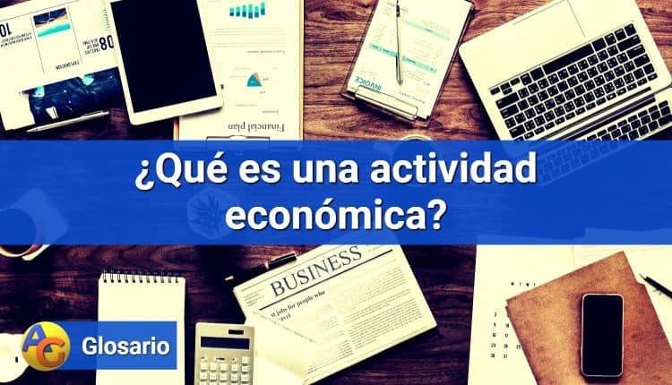 Actividad económica