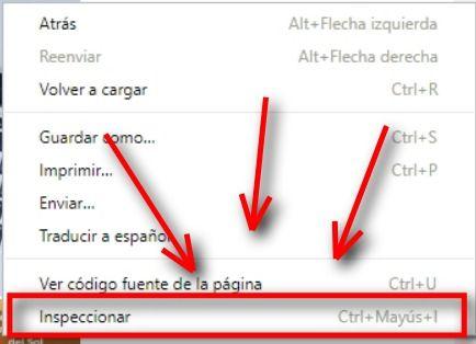 inspeccionar elementor navegador chrome ayudagestorias