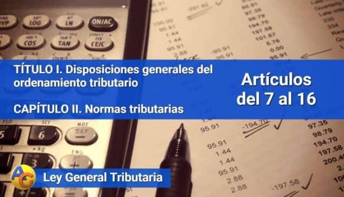 normas tributarias