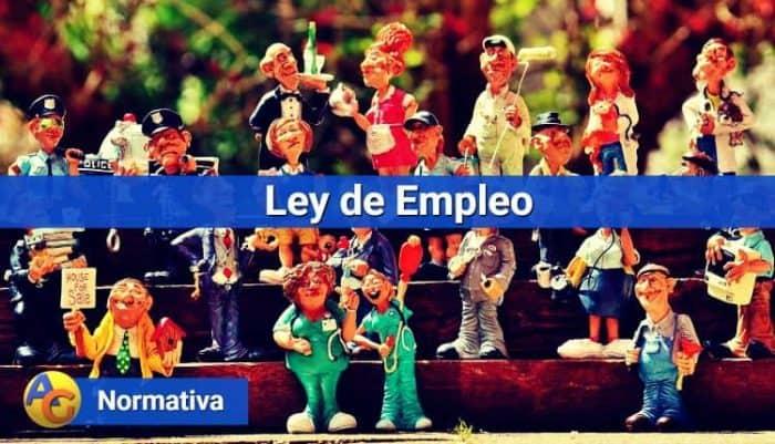 Ley de Empleo normativa
