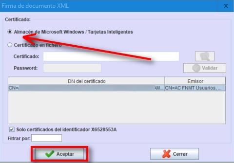 almacen de microsoft certificado digital