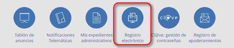 Registro electrónico Seguridad Social