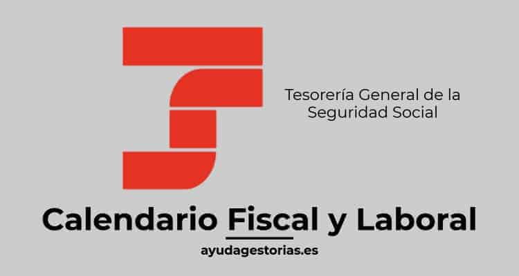 Seg Social Calendario Laboral.Cierre Cargo En Cuenta Sistema Red Y Sld Calendario Fiscal Laboral